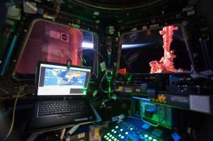 Foto: NASA rahvusvahelise kosmosejaama sisevaade.